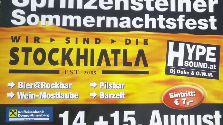 Sommernachtsfest Sprinzenstein