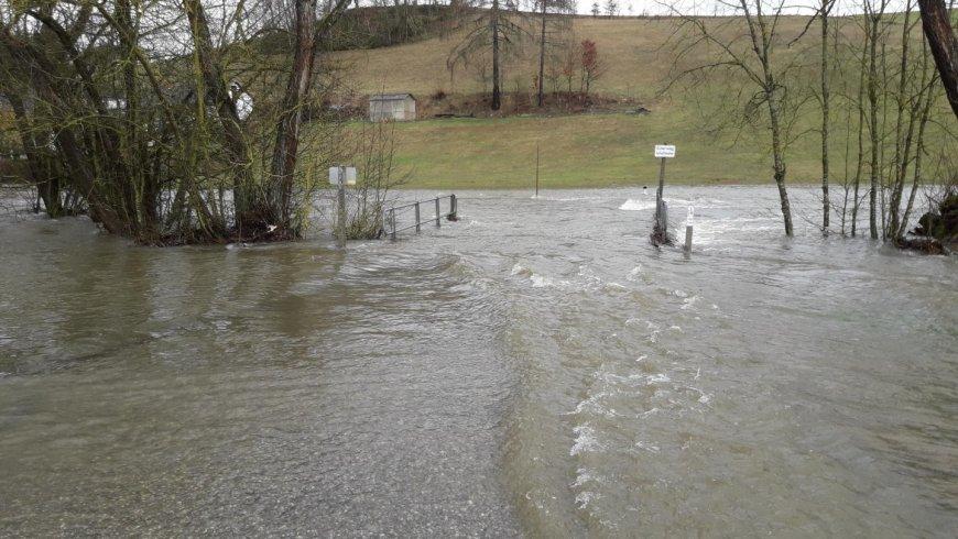 Überflutung Schaffelmühle