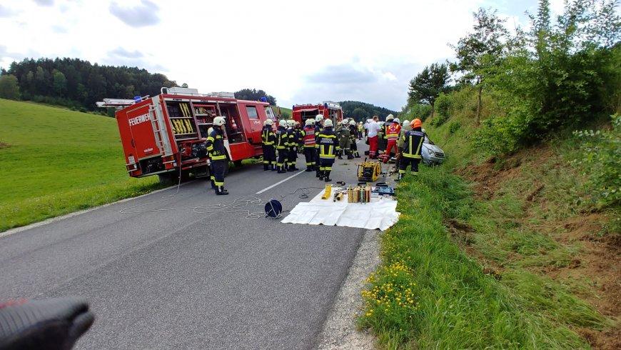 Verkehrsunfall Kielesreith