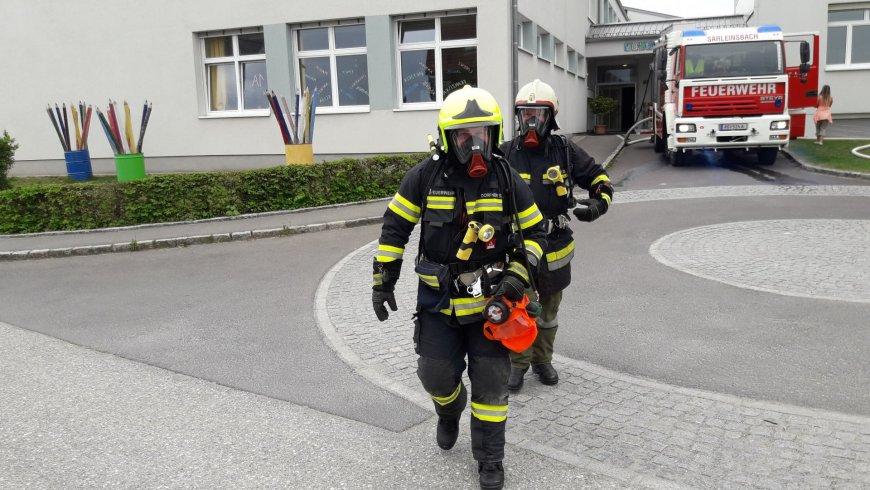 Frühjahrsübung Volksschule Sarleinsbach