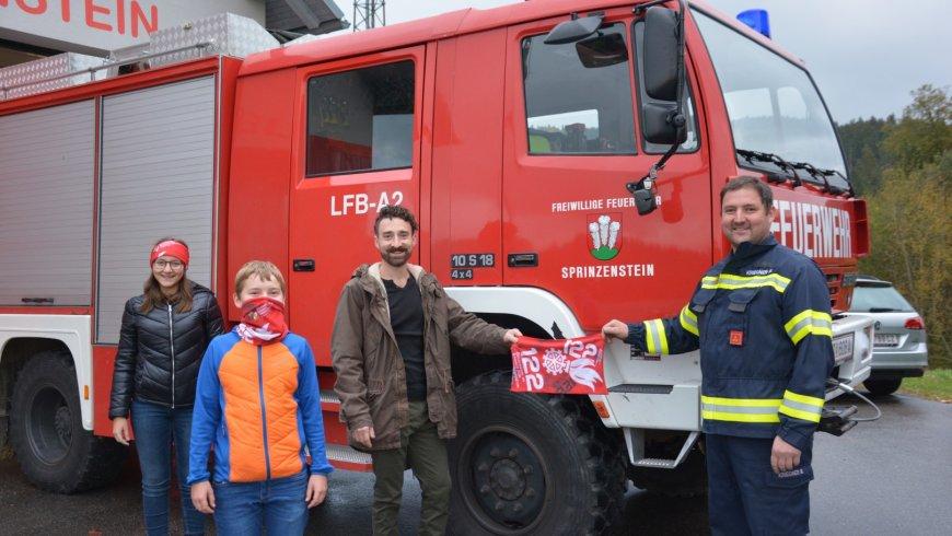 GH Mosthütte sponsert MNS – Masken