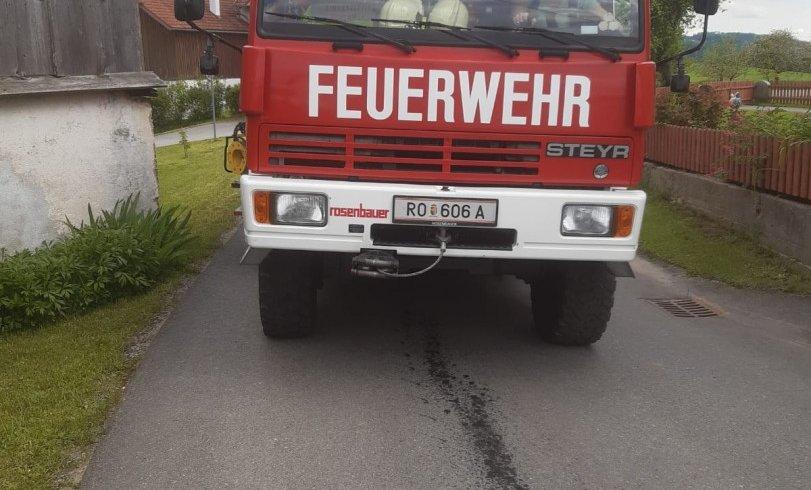 Ölspur Fürling / Dorf 28.05.2021