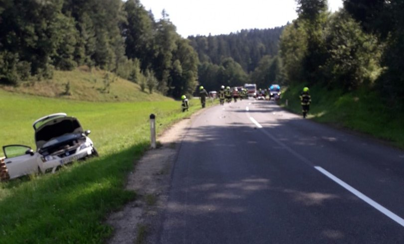 Verkehrsunfall – Aufräumarbeiten